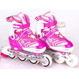 New kids inline skate with flashing