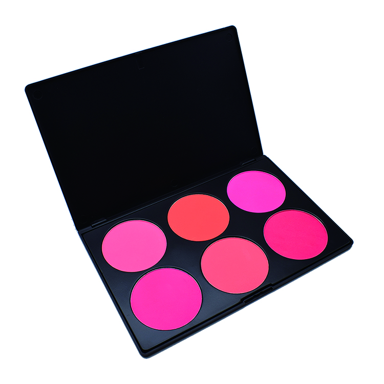 6 colors blush