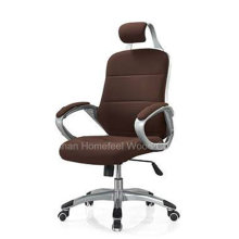 Brown Leather Swivel Manager Boss Office Executive Chair (HF-M93A)