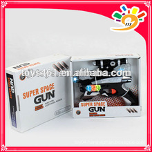 HOT! Fashion gun,space gun toys with light and sound