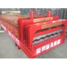 828 Glazed Steel Sheet Roofing Sheet Roll Forming Machine