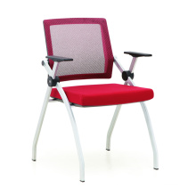 stackable mesh conference chair for meeting room