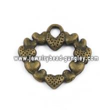 Красивая сердце формы ювелирные изделия сплава ожерелье