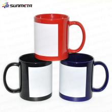 Sunmeta factory supply 11oz porcelain mug for sublimation wholesale price