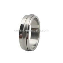Kundenspezifische hochwertige Edelstahl Spinner Ringe