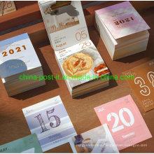 Sticky Notes Style Paper Calendar Scrapbook