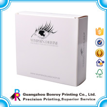 Glue Custom Unique False Eyelash Extension Packaging Box