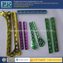 Kundenspezifischer heißer Verkauf hohe Präzision eloxierte Aluminiumteile