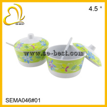 "4.5"" Melamine Sugar Pot"