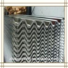 3104 hoja de aluminio corrugado