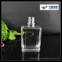 Garrafa Spriit Liqor garrafa de vidro de garrafa de vidro de 100ml de vinho quadrado