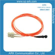Сетевой кабель с дуплексным разъемом MTRJ-SC