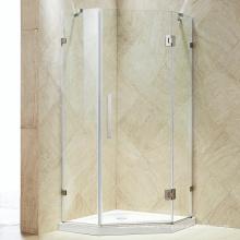 Seawin Bathroom Design Frameless Frosted Glass Doors Enclosure Shower Room