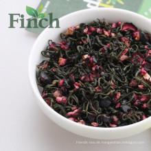 Fink-Marke 2016 der neueste Schönheit-haltene Blaubeergrün-Tee, getrockneter Blaubeermischgeschmack-Tee für Teebeutel