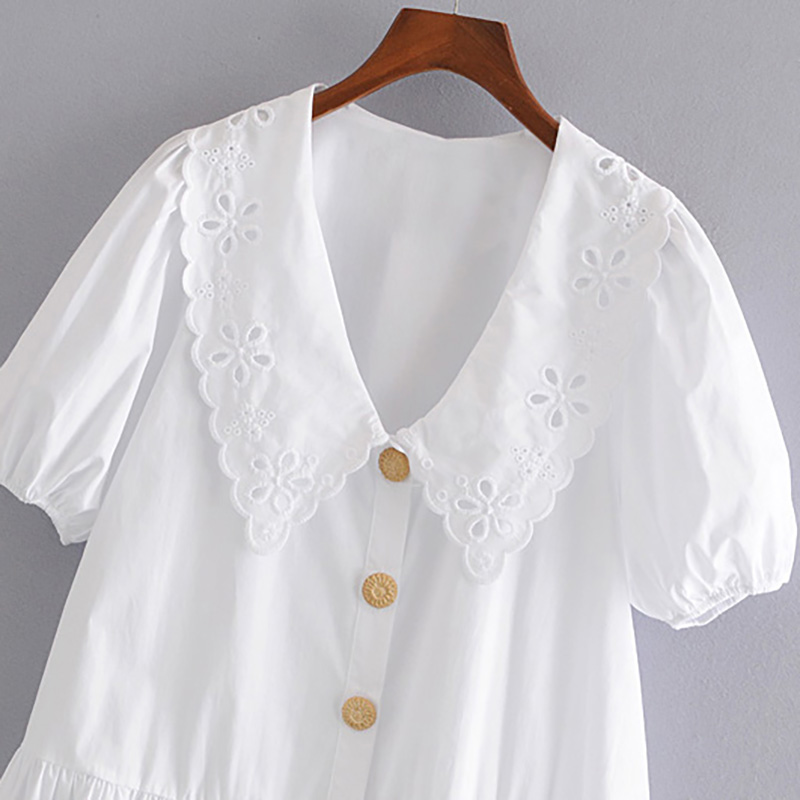 Cotton Dress Embroidery