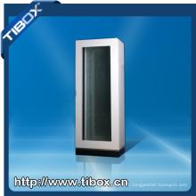Cabinet de serveur de suspension de porte en plexiglas