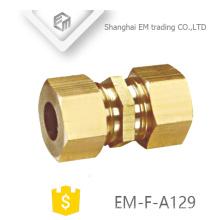 ЭМ-Ф-А129 муфта латунная наружная резьба быстрый разъем трубы
