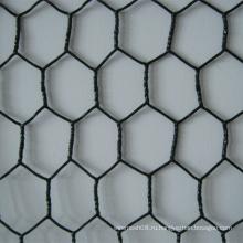 Шестиугольное плетение провода после Покрынного PVC