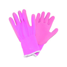 13G Nylon Liner Glove with Latex Coated Foam Finished