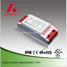 high quality plastic 12v 12w 1a led ac to dc power supply