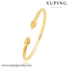 51429- Xuping vente chaude 18K plaqué or bracelet manchette de grossiste fournisseur