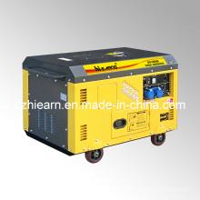 10kw Luftgekühlte zwei Zylinder Silent Typ Diesel Generator Set (DG15000SE)