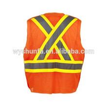 Защитная одежда для непромокаемой одежды, защитная жилетка с длинным рукавом Сертификат ANSI / ISEA