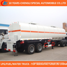 Brand 2 Axle 30cbm Bitumen Tank Trailer for Sale