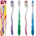 Brosse à dents adulte en nylon transparent