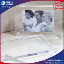 Pop-Display Doppelseitiger Acryl-Fotorahmen mit Magnet