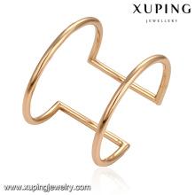 51603 Xuping bijoux simple mode sans bracelet manchette en pierre