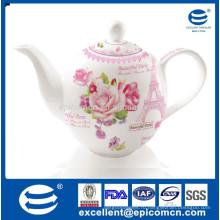 Чайный сервиз с английским стилем 1200 мл
