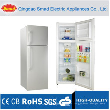 cheap top freezer no frost stainless steel refrigerator