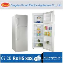 Congelador superior barato nenhum refrigerador de aço inoxidável da geada