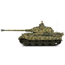 Tanque Alemão King Tiger 1: 24 Tanque de Batalha RC