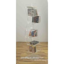 Acrylic CD Display Rack