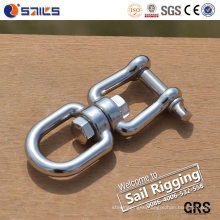 Stainless Steel European Type Swivel with Eye and Jaw