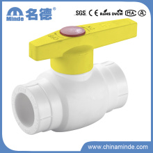 Válvula de bola de latón PPR tipo a para materiales de construcción