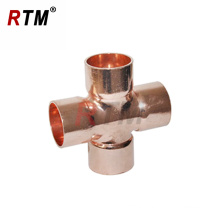 B 4 21 equal cross fitting copper fitting 4 way copper fitting