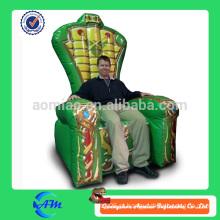 Venda quente Inflável King Throne para venda