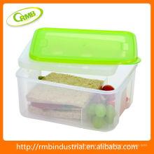 2014 neue Lebensmittelsafe Plastik Lunchbox