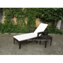 Muebles de jardín/muebles al aire libre / tumbona Rattan muebles/muebles/Patio muebles de mimbre (5014)