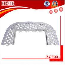 maßgeschneiderte Aluminium Kohlebecken Tisch
