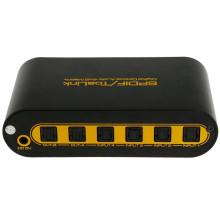 Spdif / Toslink 4X2 Digital Optical Audio Matrix com controle remoto