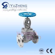 Fabricante de válvulas globo de aço carbono na China