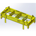 Semi-Automatic Container Spreader Lifting Equipment