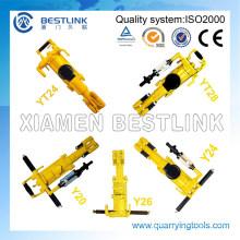 Portable Vertical Pneumatic Rock Drill Y20/Y24/Y26