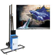Hot Selling Inkjet Printer On Wall 3D Wall Printer Machine