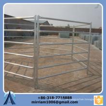 1800 mm * 2100 mm Paneles de oveja galvanizados de 6 barras resistentes