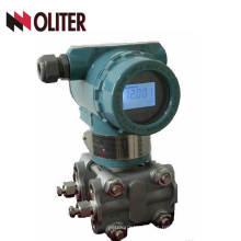 Transmisor de presión diferencial inteligente electrónico Salida de 4-20 mA con Hart
